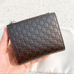 NWT Authentic Gucci MicroGuccissima Leather Wallet
